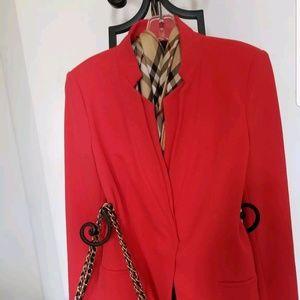 $120! Zara wool feel blazer coat SZ L